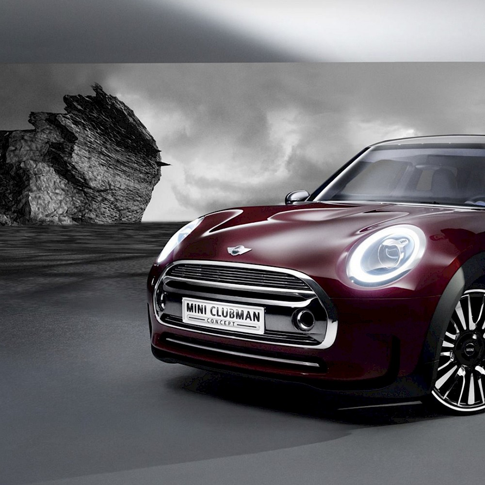 MINI Clubman Magazine Editorial : Environment Design