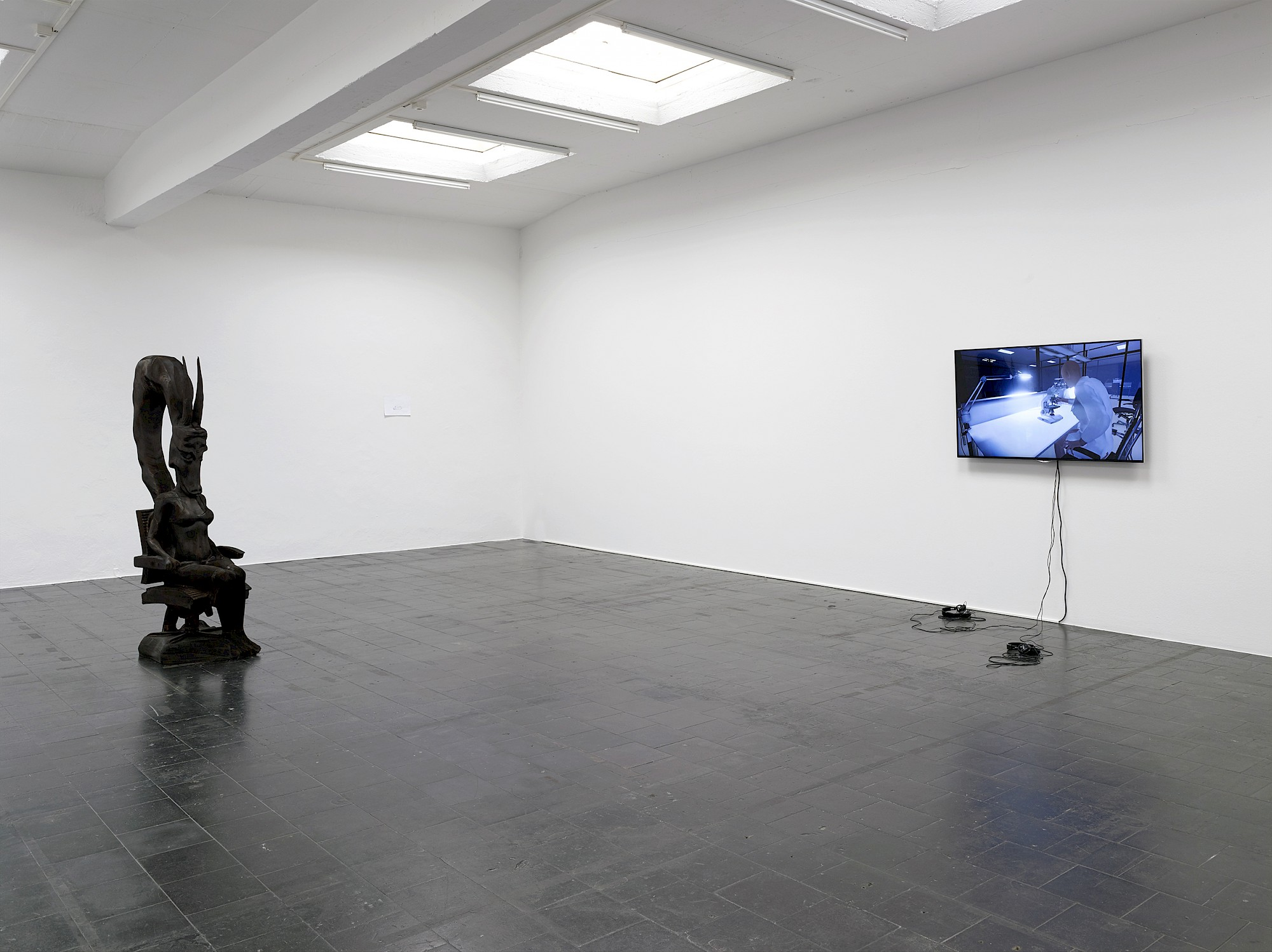 Installation view, Temporary Gallery, Cologne