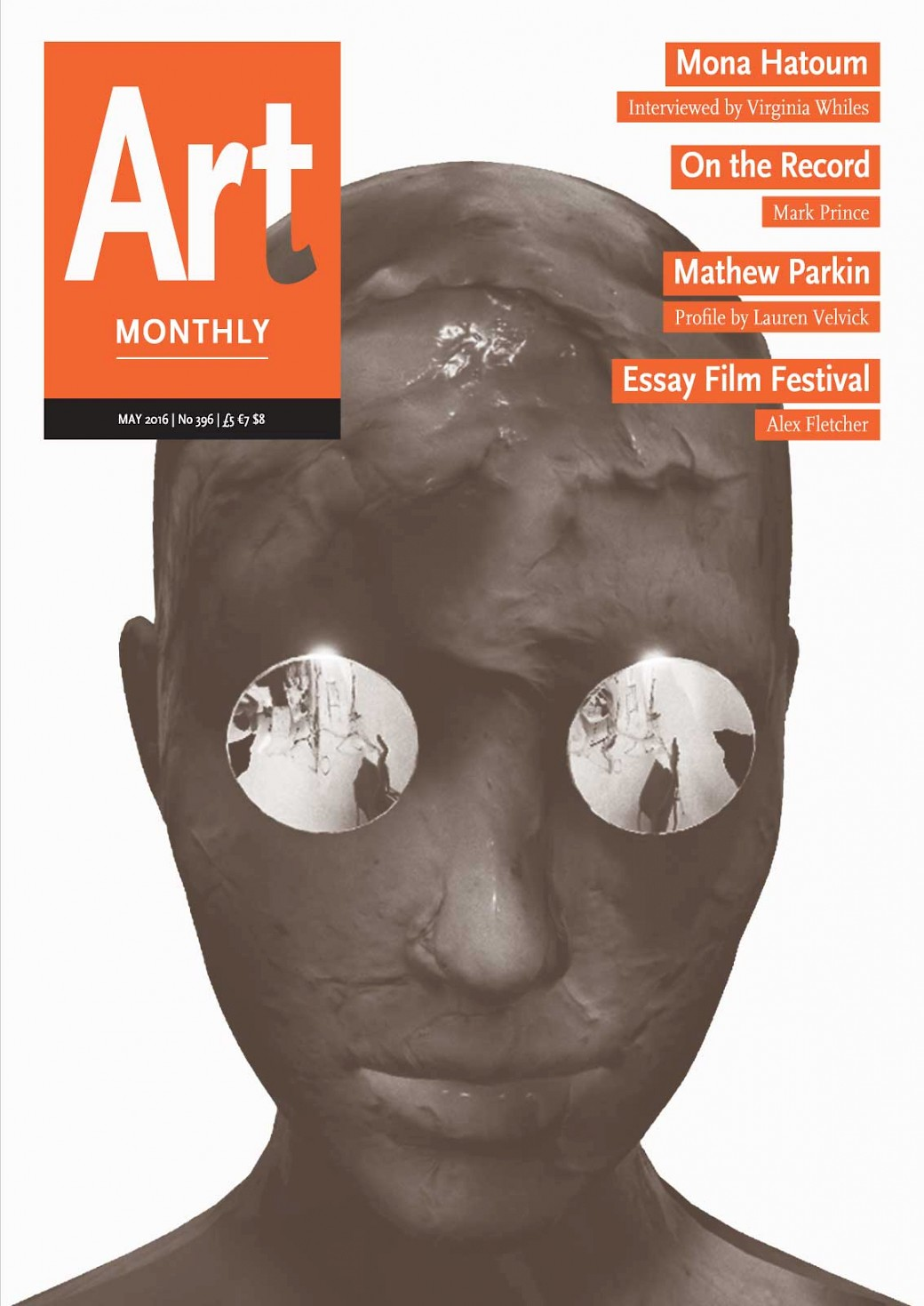 'Dick Girl' is featured on the cover of Art Monthly!